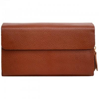 کیف دستی چرم HTM 800073 - 4